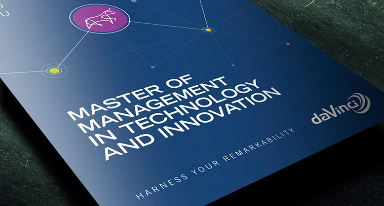 MASTER OF MANAGEMENT IN TECHNOLOGY AND INNOVATION